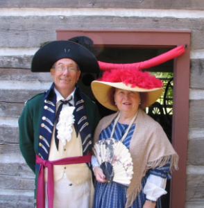 Meet John and Elizabeth Simcoe at Scadding Cabin @ Scadding Cabin